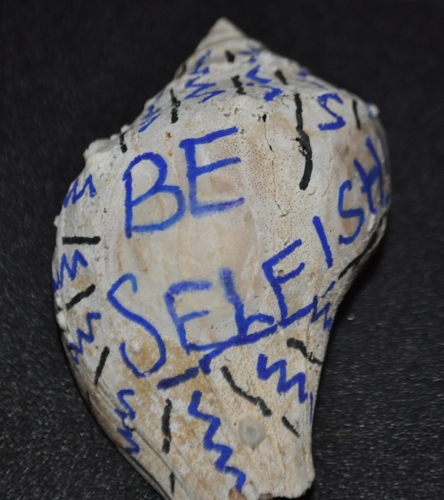 Be selfish like a shellfish. Gypsy Tornado 2012