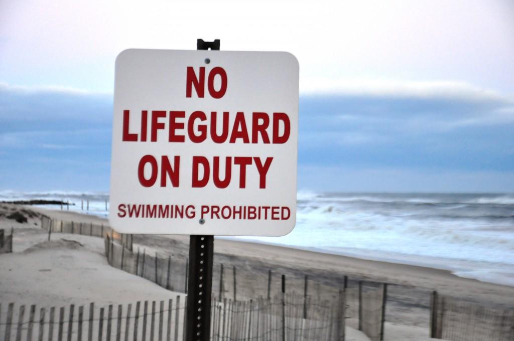 No Lifeguard on Duty. Gypsy Tornado 2012.